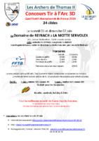 Mandat – Les Archers de Thomas 2 – 2019 – avec plan
